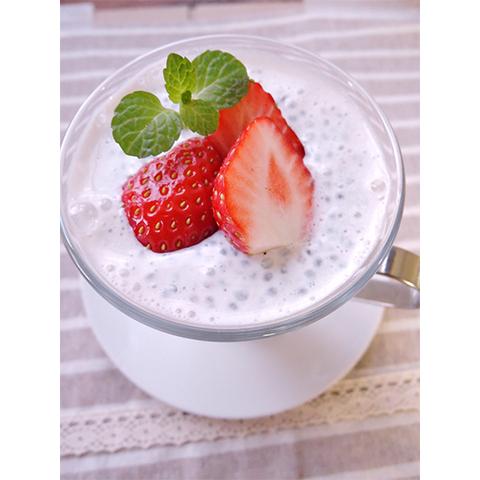 【濃いアーモンドミルクレシピ】アーモンドミルクチアシード