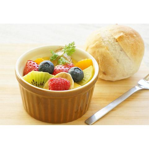 【濃いアーモンドミルクレシピ】アーモンドミルクのフルーツグラタン