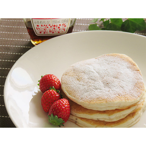 【濃いアーモンドミルクレシピ】アーモンドミルクとバナナのパンケーキ
