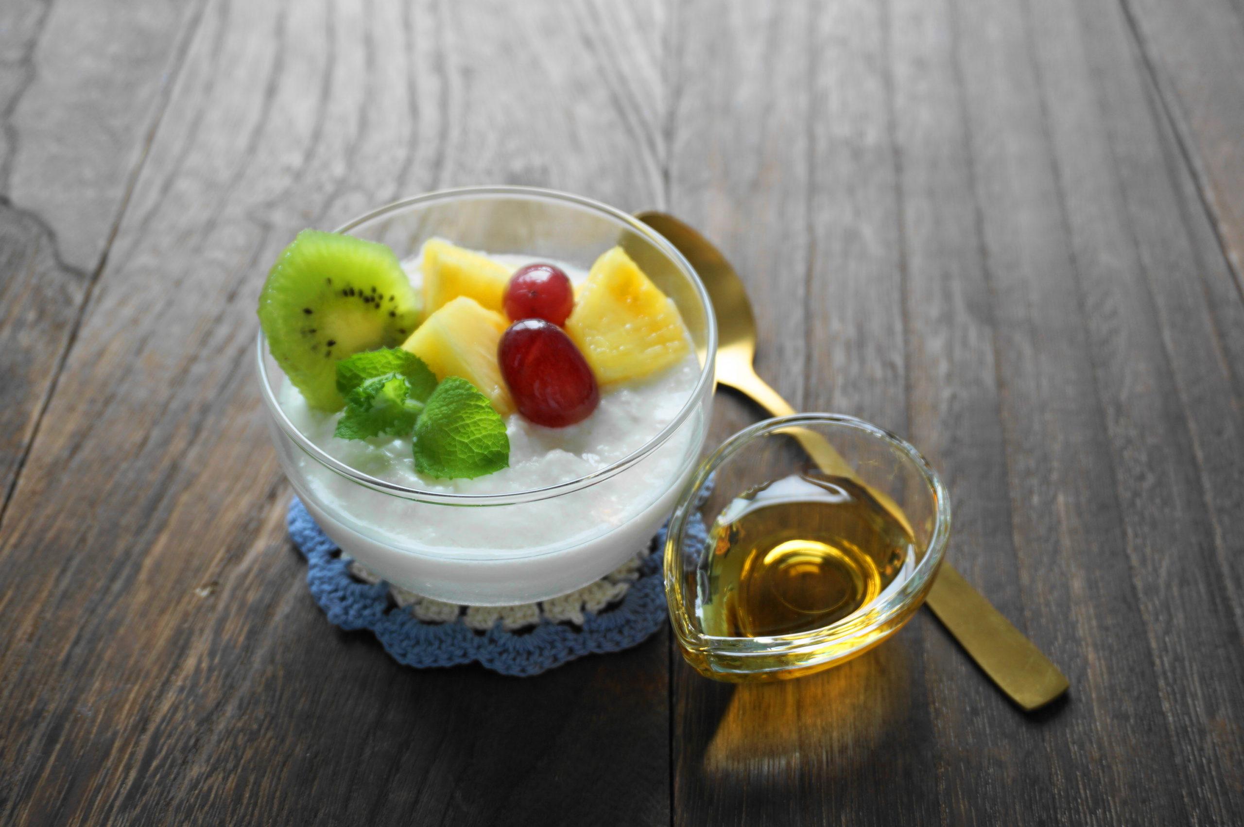 【濃いアーモンドミルクレシピ】手作りアーモンドミルクヨーグルト